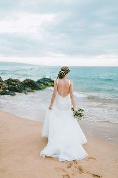 A Maui Outdoor Beach Wedding At This Andaz Venue In Hawaai Caitlin Cathey Fine