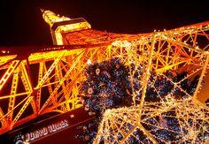東京タワーにて、毎年冬の恒例となったクリスマスイルミネーションが、11月3日から12月25日まで開催されます。