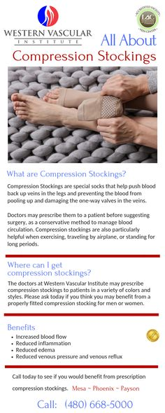 f525a595b2a Medical grade compression stockings and their benefit. Vascular Disease