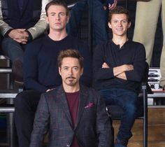 """""""Tom your not supposed to smile""""   SUPERFAMILY TOGETHER IN THE 10 YEAR ANNIVERSARY PIC....COINCIDENCE, I THINK NOT!!!!"""