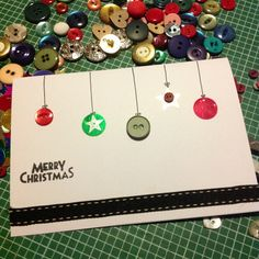 #christmas #cards #craft homemade cards inspired by Pinterest