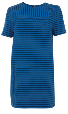 Topshop SS13 Blue Stripe Dress