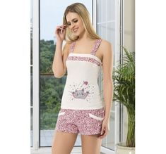 Pijama - Angel Story 53160 Bayan Şort Takım. Angel Story 53160 Bayan Şort Takım, Penye kumaştan üretilen bayan şort takım modelidir. Boho Shorts, Rompers, Dresses, Women, Fashion, Babydoll Sheep, Vestidos, Moda, Women's