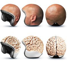 "Bike helmets ""EXPERIMENTS"" by GOOD"