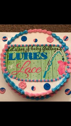 Reveal Cake ;)