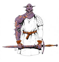 Brave New World - Inktobers 21-25 i - A Knight's Focus ii -...