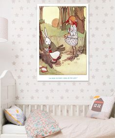 Take a look at this 'Oh Dear!' Wall Art on zulily today!