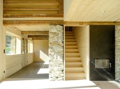 Stall B Tschagguns, Bernhard Breuer 2015 House Inside, Tiny House, Agricultural Buildings, Cabins And Cottages, Stables, Arches, Interior Architecture, New Homes, Barn