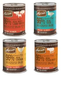Merrick Grain Free Texas Beef, Real Chicken, Duck, Beef, Lamb and Buffalo 13.2 oz Each Dog Food, 8 Cans Total * See this great product. (This is an affiliate link) #DogFood
