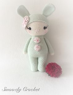 17 best ideas about crochet bunny on crochet Crochet Bunny, Cute Crochet, Crochet For Kids, Crochet Animals, Crochet Dolls, Amigurumi Doll, Amigurumi Patterns, Crochet Patterns, Easy Crochet Projects