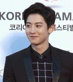 2015 Korea Drama Awards 151009 : Red Carpet - Chanyeol (1/4)
