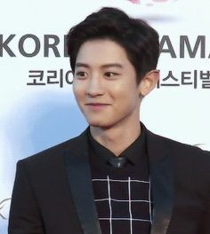 2015 Korea Drama Awards 151009 : Red Carpet - Chanyeol (1/4)