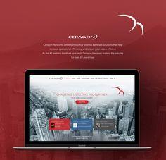 Ceragon Website on Behance