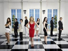 Revenge - obsessed! There hasn't been such a good night time soap opera in years!!!!!!!!!!!!