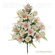 Ramos artificiales cementerios y jardineras Todos los Santos. Ramo flores…