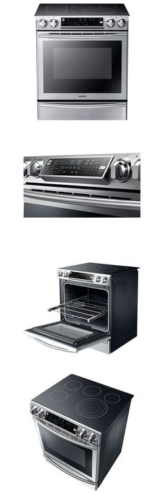 ranges and stoves samsung nx58k9850sg black stainless steel flex duo slide in gas range u003e buy it now only on ebay
