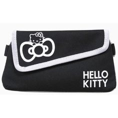 Pritties Accessories Genuine Sanrio Hello Kitty Boutique Zip Coin Purse with Strap