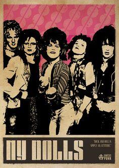 New York Dolls Punk Poster