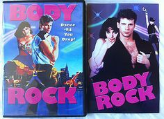 Body Rock DVD Anchor Bay Lorenzo Lamas Breakdance '80s Cheese - Out of Print