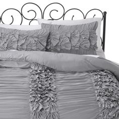 Xhilaration Textured Comforter Set- Also comes in pink, light blue and white