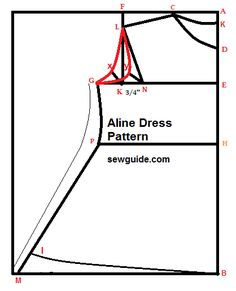 Free pattern ( draft) to sew a simple A line dress / gown for girls with step by step sewing instructions Pleated Skirt Pattern, Gown Pattern, Skirt Patterns Sewing, Sewing Patterns Free, Free Sewing, Clothing Patterns, Free Pattern, Sleeve Pattern, Collar Pattern