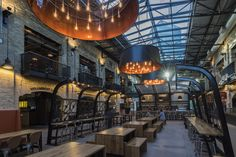 Completed in 2016 in Winnipeg, Canada. Images by Mike Pratt, Laurie Brand, Erin Riediger. The Forks Market Food Hall breathes new life in to one of Winnipeg's most important and beloved public spaces. The market acts as the city's living...