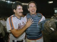 the 'stache and the kid...1986 World Series