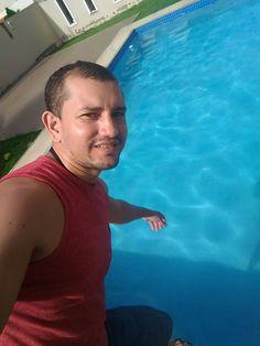 Eu amo piscina