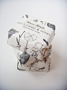 Sale  WILD FLOWERS and HONEY  Shea Butter Soap by sweetpetula, $2.99