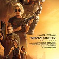 Terminator Dark Fate James Cameron Linda Hamilton Arnold Schwarzenegger Natalia Reyes Mackenzie Davis Endosquelette Terminator Jugement Dernier Affiche De Film