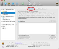 Use Disk Utility to Repair Hard Drives and Disk Permissions on the Mac