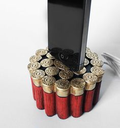 12 Gauge Shotgun Shells iPhone 4 iPhone 5 Dock  by UncommonAndNice, $49.00