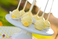 baby shower take home favors grey and yellow theme | ... grey yellow chevron party via babyshowerideas4u.com baby shower ideas