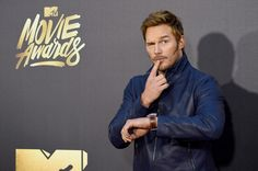 Chris Pratt Photos - Actor Chris Pratt attends the 2016 MTV Movie Awards at Warner Bros. Studios on April 2016 in Burbank, California. MTV Movie Awards airs April 2016 at ET/PT. Mtv Movie Awards, Actor Chris Pratt, Award Acceptance Speech, Witty Comments, Funny Comedians, Chris Rock, Anna Faris, I Love Ny, Star Lord