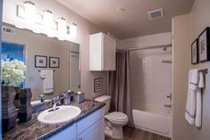 Scissortail Crossing Apartments offers a variety of amenities and is conveniently located in North Broken Arrow, OK. Broken Arrow, Luxury Apartments, Decorating, Bathroom, Furniture, Home Decor, Decor, Washroom, Decoration