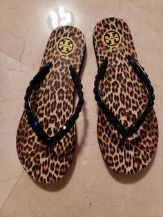 8ef38021c7d Tory Burch Flip Flops Size 8  fashion  clothing  shoes  accessories   womensshoes