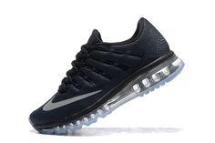 Hommes Nike Air Max 2016 Chaussures Noir/Blanc/Gris 806771-001
