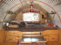 Hoss Port Sheep Wagons bring western camping to the mainstream in these custom made 12 foot long campers.