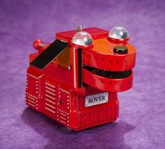 Rover the Robot Dog, A Key Wind Tin Toy