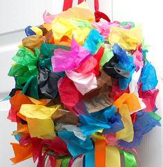 Colorful piñata