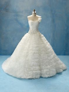 i love this dress by alfred angelo.