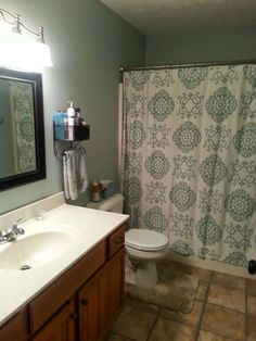 How to Update Your Bathroom for Under $50!
