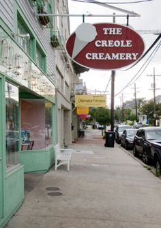 The Creole Creamery has the best locally-made ice cream in New Orleans. One of my favorites is the Lavender Honey.