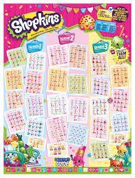 shopkins season 1 collectors guide checklist party shopkins