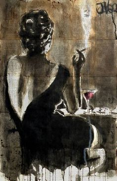 "Saatchi Art Artist LOUI JOVER; Drawing, ""cocktail"" #art"