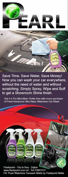 http://PearlWaterlessInternational.com - Waterless Car Wash Products sold in bulk concentrate and shipped anywhere in the world.
