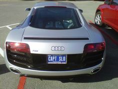 How many older model Audi's do you see on the road these days? Ummm, not many. Funny License Plates, Vanity License Plates, Personalized Plates, Vanity Plate, Number Plates, Cars Motorcycles, Superhero, Google Search, Creative