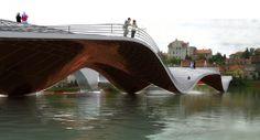 Footbridge in Maribor / Ja Studio + Tadj-Farzin Studio