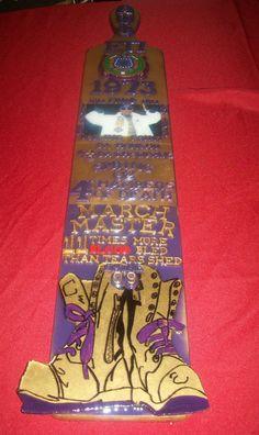 Omega Psi Phi paddle