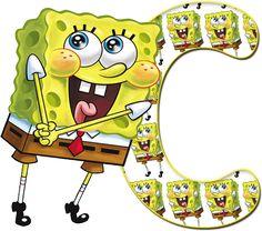 Oh my Alfabetos!: Alfabeto grande de Bob Esponja.